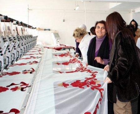 BUGİAD'lı kadın girişimciler, Selinay Tekstil'i ziyaret etti