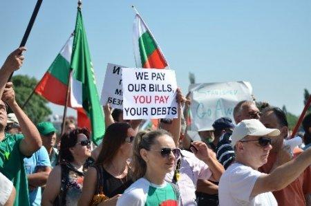Bulgaristan'da hükümet karşıtı gösteriler sürüyor