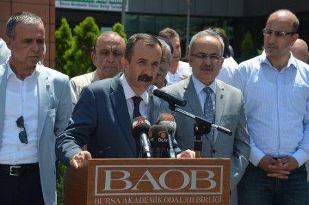 Bursa Barosu'dan hükümete 'Gezi Parkı' eleştirisi