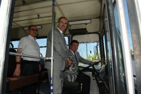 Bursa Büyükşehir Belediyesi, Tatkavaklı'ya otobüs hediye etti