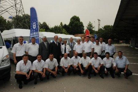 Bursa Büyükşehir Belediyesi'nin araç filosu güçlendi