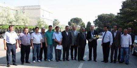 Bursa Özel İdare'den karla mücadele personeline teşekkür plaketi
