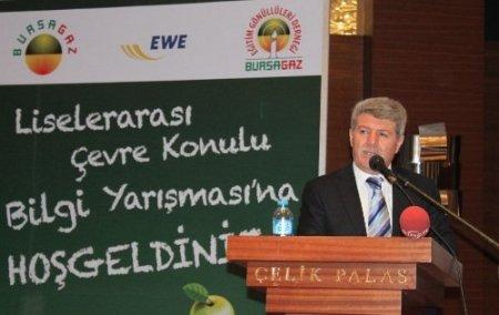 Bursa'da öğrenciler çevre için yarıştı, ödülleri kaptı