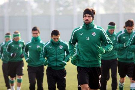 Bursaspor, Sivasspor hazırlıklarını sürdürdü