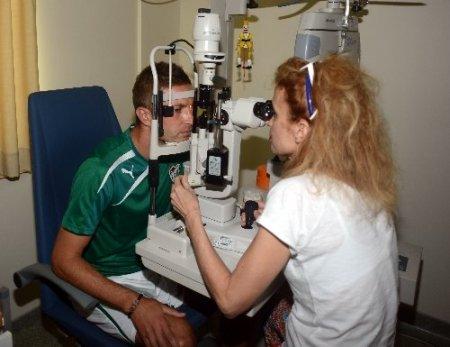 Bursaspor'da sağlık kontrolleri başladı