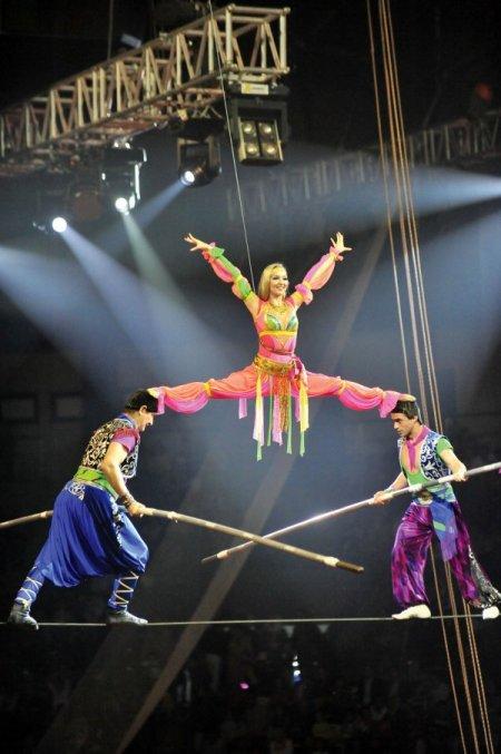 Büyük ankara moskova sirki hafta sonları gösterilerini