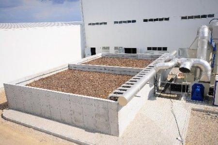 Büyükşehir'in çamur kurutma tesisi hizmete girdi