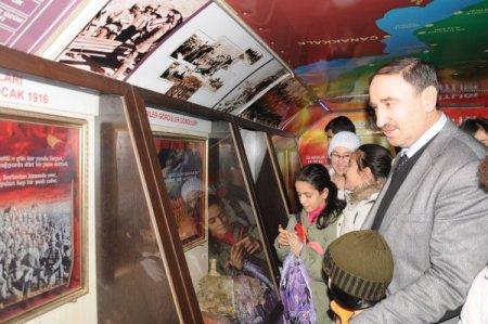 Çanakkale Savaşı Gezici Müze Otobüsü, Mustafakemalpaşa'da