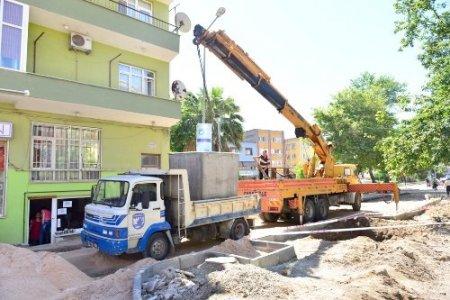 Çanakkale'de yer altı çöp konteyner sistemi kuruluyor