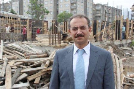 Çarşamba Öğretmenevi inşaatı yıl sonunda tamamlanacak