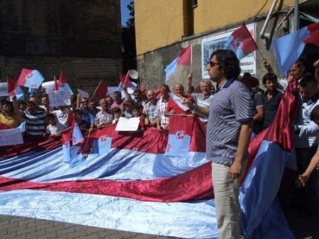 Çarşıbaşı'nda 'Temiz Futbol Eylemi'
