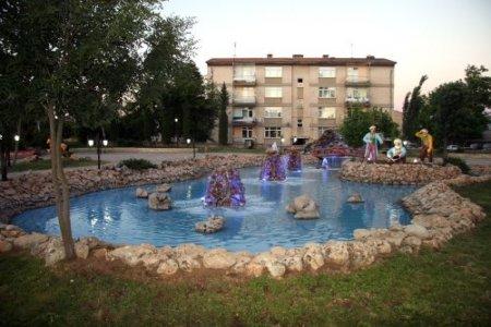 Çayda Çıra Kavşak Parkı'na eski başkanlarından Şükrü Kacar'ın ismi verildi