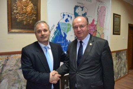 ÇGC Başkanı Esendemir, Kozan Belediye Başkanı Özgan'ı ziyaret etti
