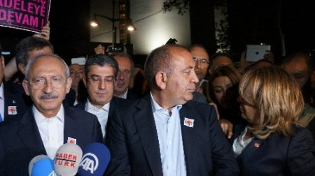 CHP lideri Kılıçdaroğlu Gezi Parkı'ndaki eyleme destek verdi