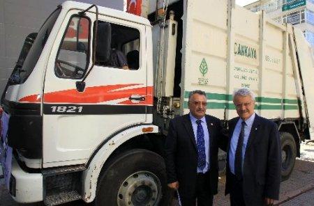 CHP'li belediyeden DP'li belediyeye destek