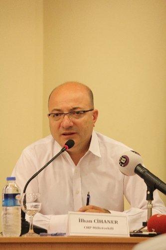 CHP'li Cihaner'den 'Demokratik muhalefetin kanalları tıkalı' iddiası