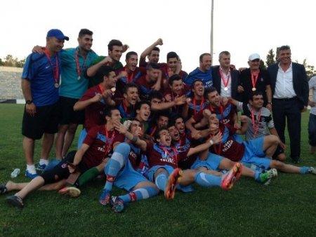 Coca-Cola Elit Akademi U18 Ligi Şampiyonu Trabzonspor
