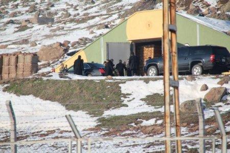 Cumhurbaşkanı Gül, 25 askerin şehit olduğu depoyu inceledi