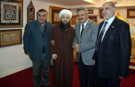 DESK Genel Başkanı Şenocak, Cübbeli Ahmet Hoca'yı ziyaret etti