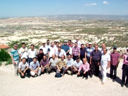 Diyanet İşleri Başkanlığı personeli, Kapadokya'yı gezdi