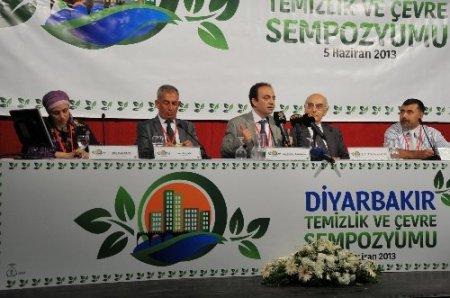Diyarbakır'da çevre sempozyumu düzenlendi