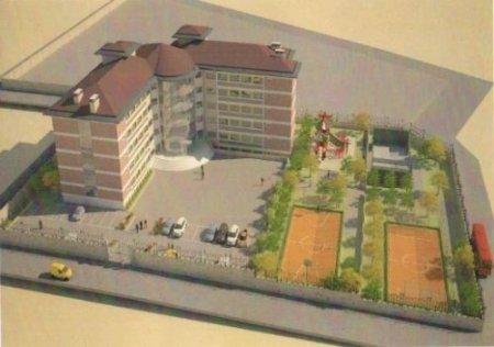 Dokumacı Koleji'nin yeni binasının temeli atıldı