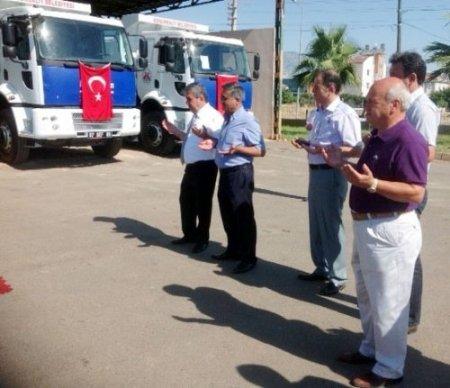 Döşemealtı Belediyesi araç filosunu güçlendirdi