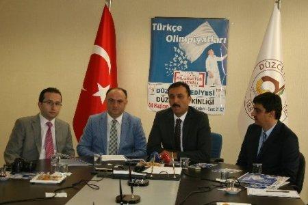 Düzce ilk defa Türkçe Olimpiyatları'na ev sahipliği yapıyor
