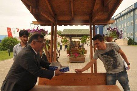 Düzce Valisi Adnan Yılmaz, Karabük Üniversitesi'ni gezdi