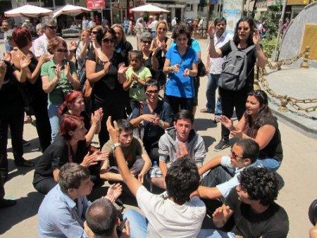 Edremit'te Gezi Parkı eylemi