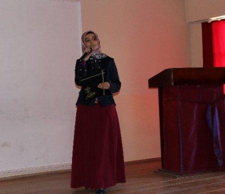 Eflani İMKB Çok Programlı Lisesi'nden Miraç Kandili programı