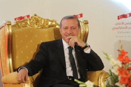 Erdoğan, Tunuslu mevkidaşıyla ortak basın toplantısı düzenledi