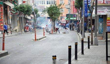 Erdoğan'ın açılışa katılacağı Okmeydanı'nda korsan gösteri
