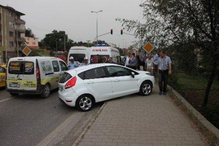 Ereğli'de trafik kazası: 1 yaralı