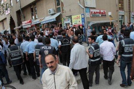 Erzincan'da Gezi Parkı protestosu