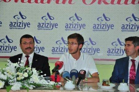 Erzurum Aziziye Koleji LYS'de Türkiye 1.'si çıkardı