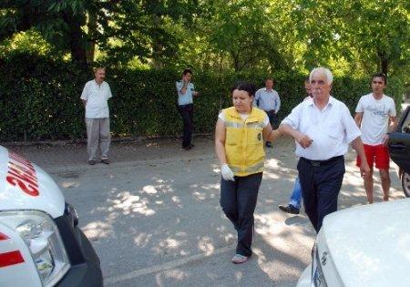 Eski Kırkpınar Belediye Başkanı kazada yaralandı
