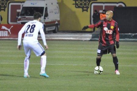 Eskişehirspor: 2– Mersin İdman Yurdu: 0 (İlk yarı)