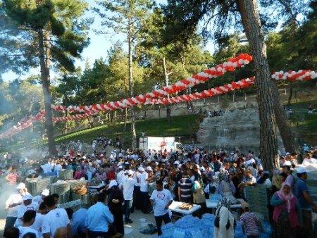 Evkara Piknik Alanı törenle hizmete açıldı