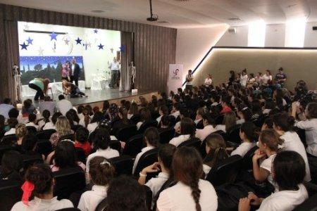 Faik Çelik Kız Meslek Lisesi öğrencileri yeteneklerini sergiledi