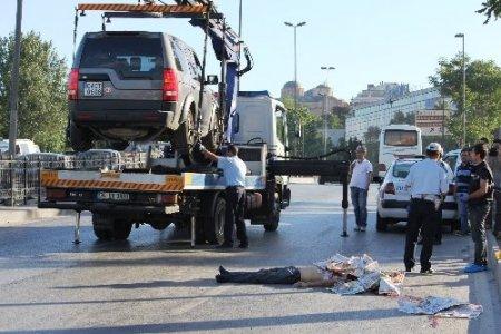 Fatih'te trafik kazası: 1 ölü