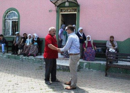 Fatsa'da cami - cemevi kardeşliği hoşgörü örneği sunuyor
