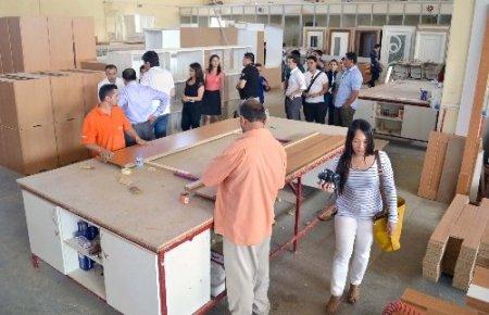 Filipinli işadamları Kahramanmaraş'ta sanayi tesislerini gezdi