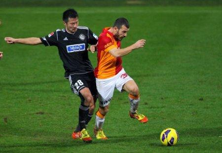 Galatasaray: 0 - Vfr Aalen: 1