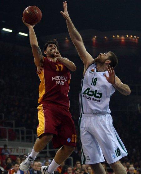 Galatasaray Medical Park, Unics Kazan'a 80 - 74 mağlup oldu