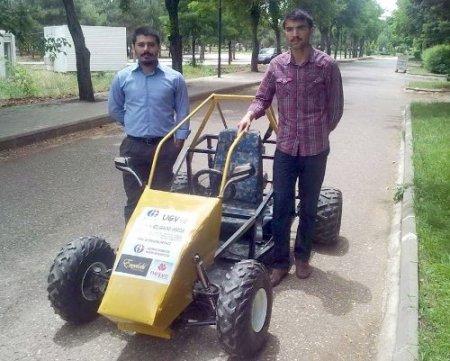 Gaziantep Üniversitesi öğrencileri insansız kara aracı üretti