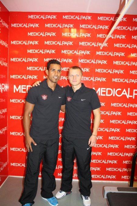 Gaziantepspor'lu futbolcular sağlık kontrolünden geçti