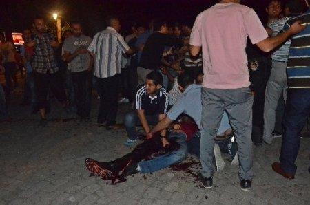 Gaziantep'te Taksim gerginliği: 1 kişi bıçakla yaralandı