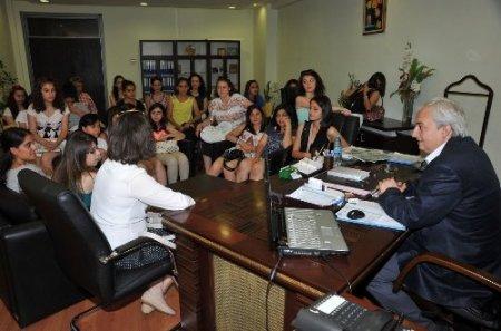 Gençlik Değişim Projesi öğrencileri Kepez'de