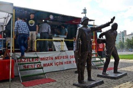 Gezici Çanakkale savaş müzesi Gaziantep'te
